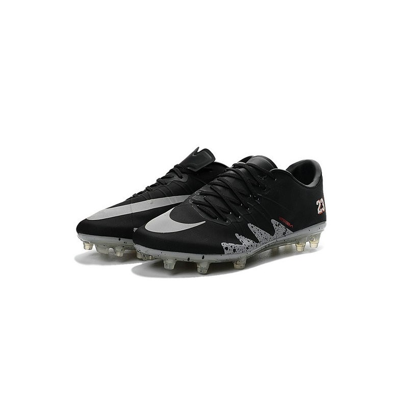 29c2f793c Best Football Shoes Nike HyperVenom Phinish FG Neymar x Jordan Black Light  Crimson White Metallic Silver