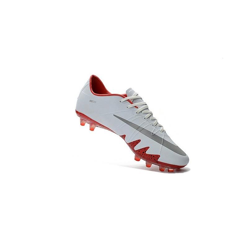 79ce5417444832 Best Football Shoes Nike HyperVenom Phinish FG Neymar x Jordan White Red
