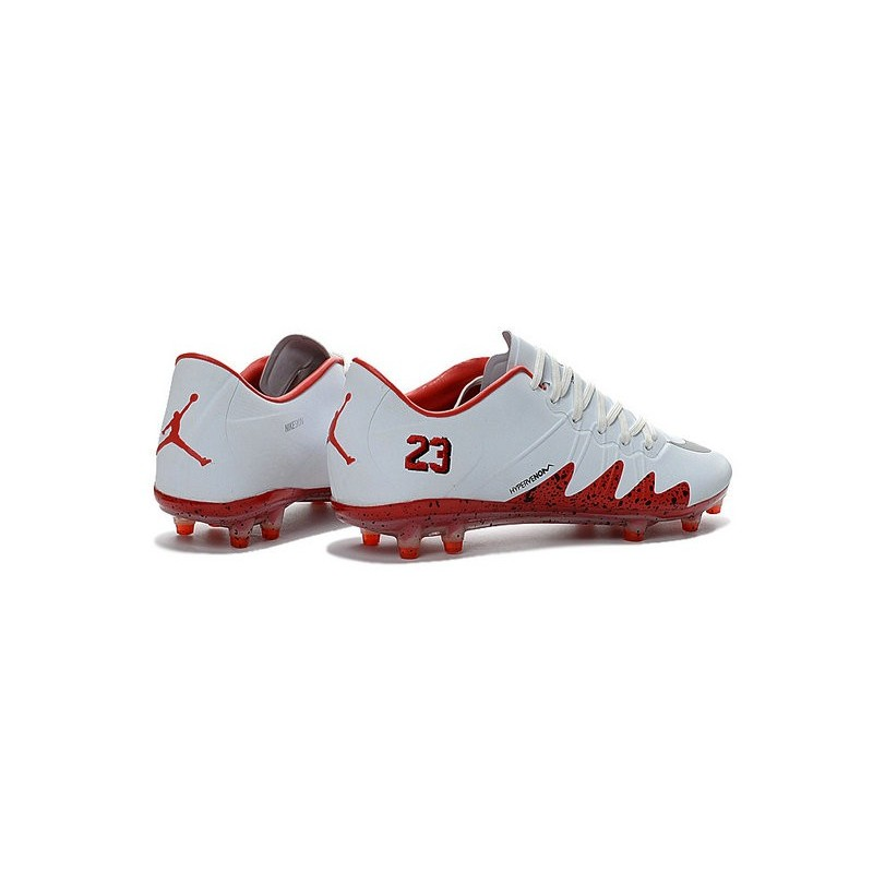 6cb6dd08f8f8 Best Football Shoes Nike HyperVenom Phinish FG Neymar x Jordan White Red