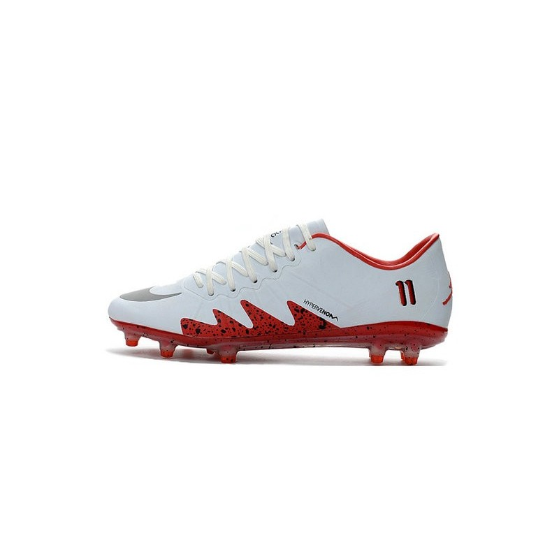 bd64f90129d7 Best Football Shoes Nike HyperVenom Phinish FG Neymar x Jordan White Red