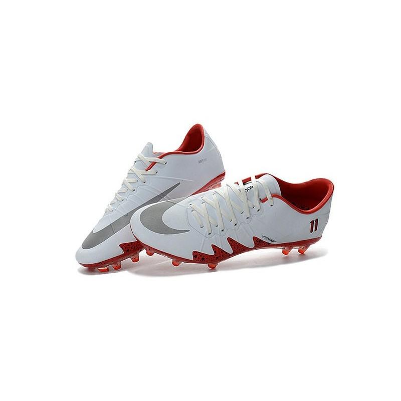 869bf9427 Best Football Shoes Nike HyperVenom Phinish FG Neymar x Jordan White Red