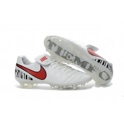 New Shoes - Nike Tiempo Legend VI FG Soccer Cleats White Red