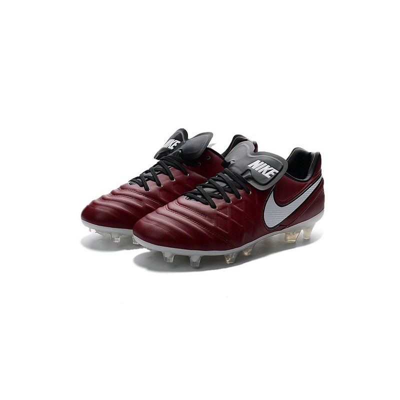 New Shoes - Nike Tiempo Legend VI FG Soccer Cleats Wine Red White 5ee68aa0a174c