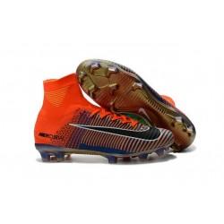 Football Boots For Men Nike Mercurial Superfly 5 FG Nike Mercurial x EA Sports Orange Green Blue Black