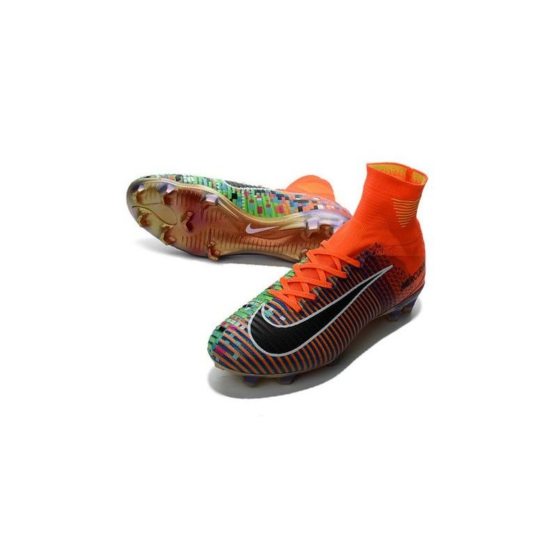 a45cfb36a1743 ... spain football boots for men nike mercurial superfly 5 fg nike mercurial  x ea sports orange