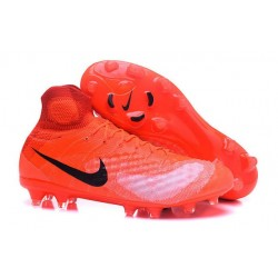 New Nike Shoes - Nike Magista Obra II FG Soccer Boots Orange Black