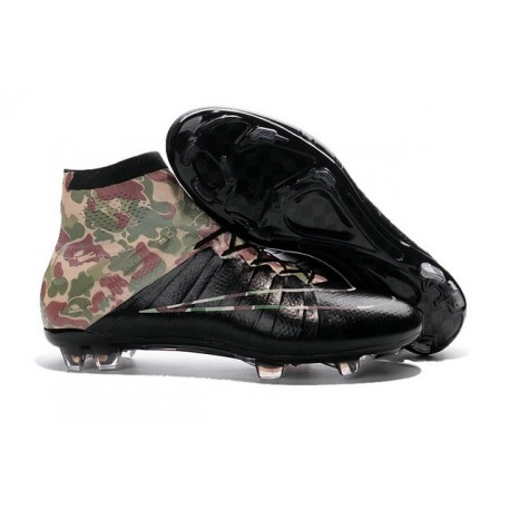 proporcionar reflujo intelectual  Nike Soccer Shoes - Mercurial Superfly 4 FG Soccer Cleats Camouflage Black