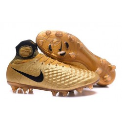 New Nike Shoes - Nike Magista Obra II FG Soccer Boots Black Gold