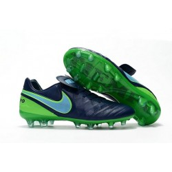 New Shoes - Nike Tiempo Legend VI FG Soccer Cleats Coastal Blue Polarized Blue Rage Green