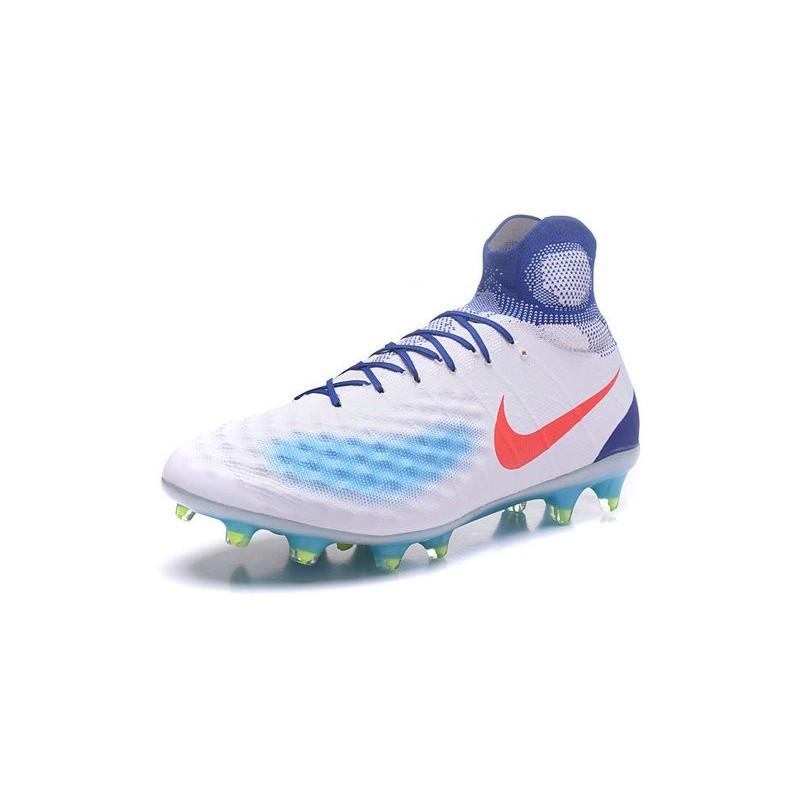 New Nike Shoes - Nike Magista Obra II FG Soccer Boots White Blue Orange  Maximize. Previous. Next