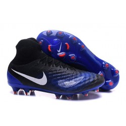 New Nike Shoes - Nike Magista Obra II FG Soccer Boots Black Blue White