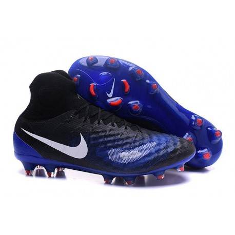 New Nike Shoes - Nike Magista Obra II FG Soccer Boots Black Blue White