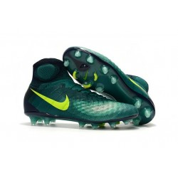 New Nike Shoes - Nike Magista Obra II FG Soccer Boots Rio Teal Volt Obsidian Clear Jade