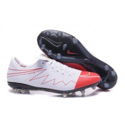 Best Football Shoes Nike HyperVenom Phinish II FG Wayne Rooney White Red Black