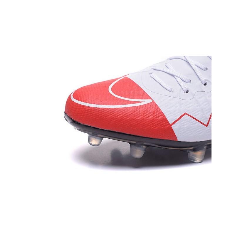 buy online b2010 374ec Best Football Shoes Nike HyperVenom Phinish II FG Wayne Rooney White Red  Black