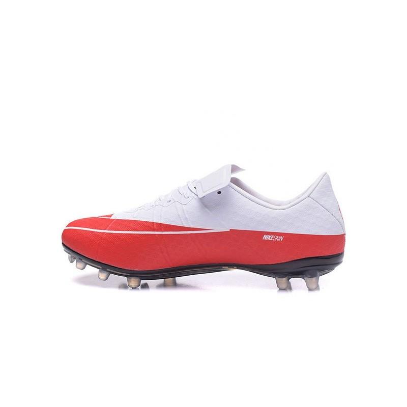 buy popular 3e397 7a3a7 ... best football shoes nike hypervenom phinish ii fg wayne rooney white  red black