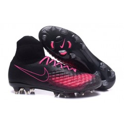 New Soccer Cleats Nike Magista Obra 2 FG Black Pink