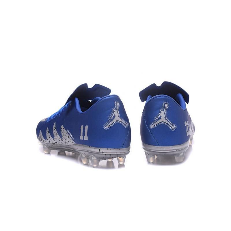 Best Football Shoes Nike HyperVenom Phinish 2 FG Jordan Blue Silver bb959d504