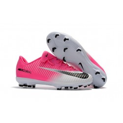 Nike Mercurial Vapor XI FG Soccer Cleats On Sale Pink White Black