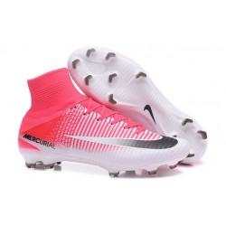 Nike Mercurial Superfly V FG Tech Craft 2017 Pink White Black