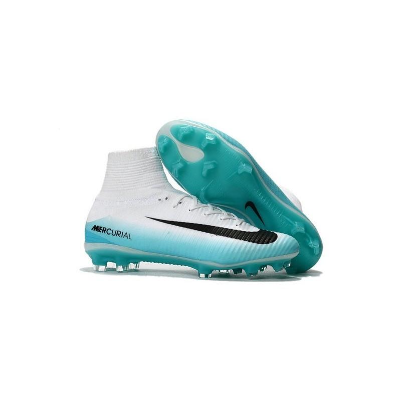 Nike Mercurial Superfly 5 FG White Blue