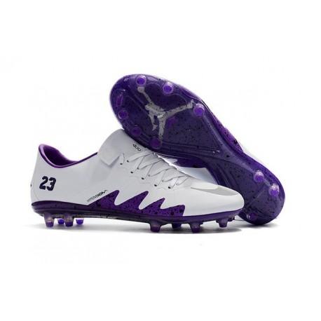 New Soccer Cleats - Nike HyperVenom Phinish FG White Purple
