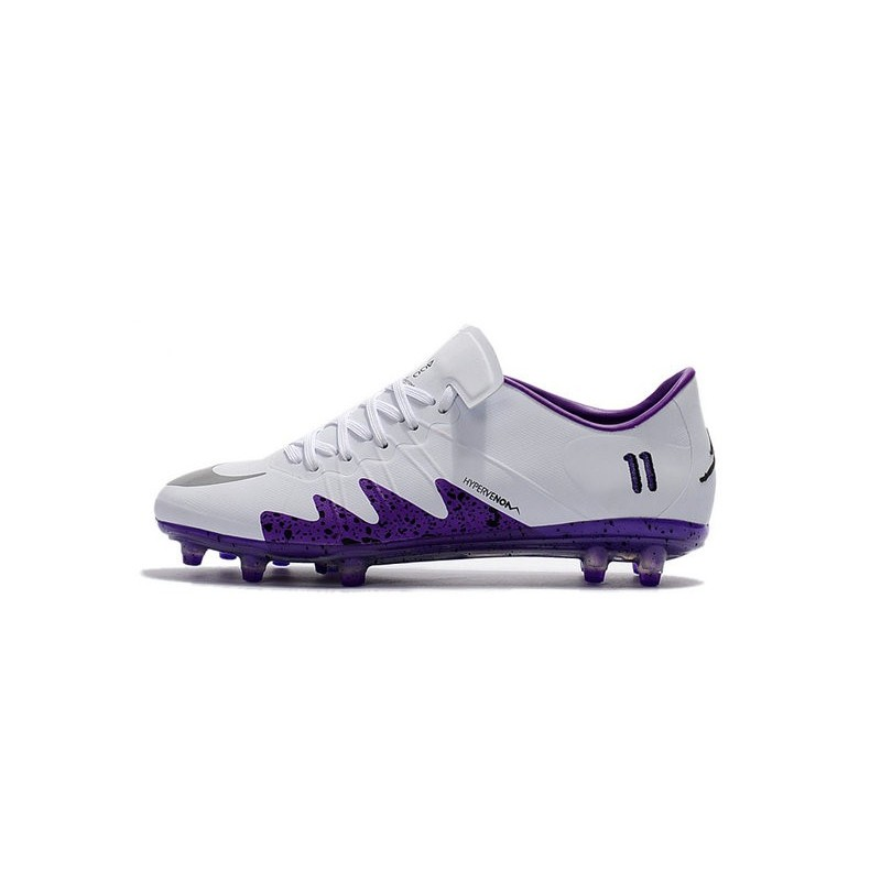 78ed2919af73 New Soccer Cleats - Nike HyperVenom Phinish FG White Purple