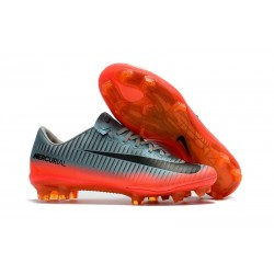 Cheap Nike Mercurial Vapor 11 FG CR7 Boots For Sale Cool Grey Metallic Hematite Wolf Grey
