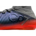 Nike Mercurial Superfly V CR7 Tech Craft Firm Ground Soccer Cleats Cool Grey Metallic Hematite Wolf Grey