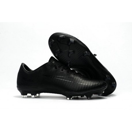Latest Nike Mercurial Vapor XI FG All Black