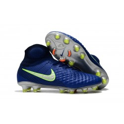 New Nike Magista Obra II FG Soccer Shoes For Sale Dark Blue Green