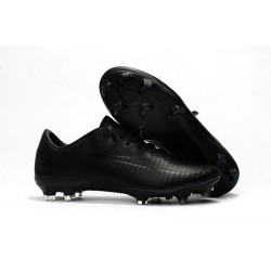 2017 New Shoes - Nike Mercurial Vapor XI FG All Black