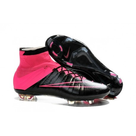 Nike Men's 2016 - Mercurial Superfly 4 FG Soccer Shoes Leather Hyper Pink