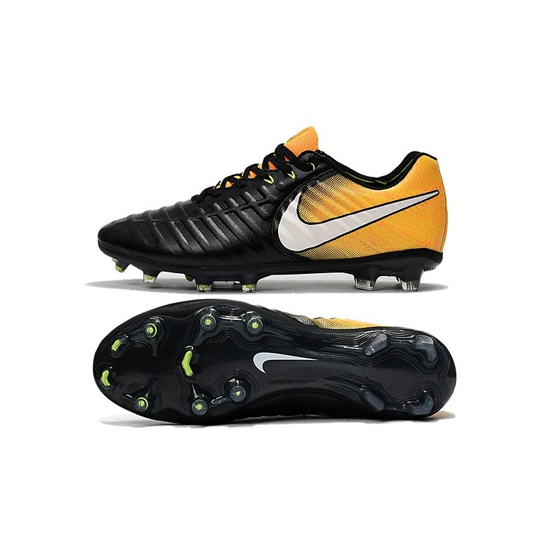 online store 4b61e c21b6 Soccer Shoes For Men Nike Tiempo Legend 7 FG - Black White ...