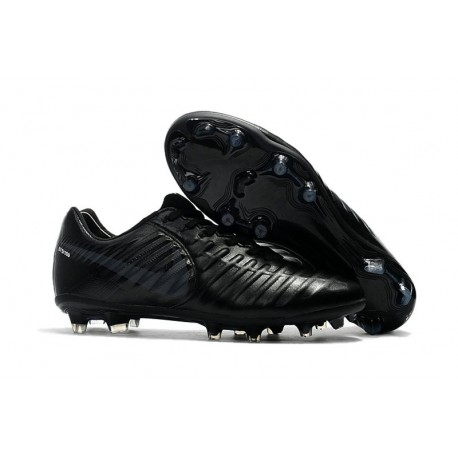 Football Cleats Nike Tiempo Legend VII FG - All Black
