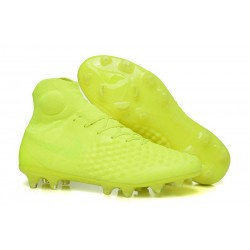 Men Nike Magista Obra II Firm-Ground Soccer Cleats Volt