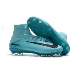 Football Boots For Men Nike Mercurial Superfly 5 FG Blue Black