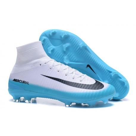 Men Nike Mercurial Superfly 5 FG White