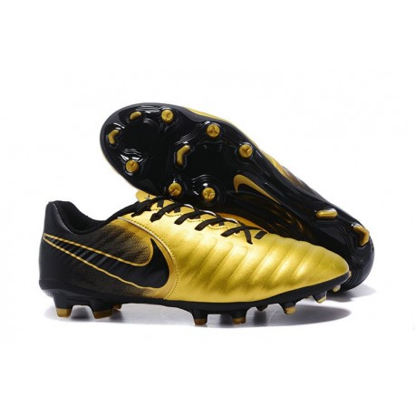 Football Cleats Nike Tiempo Legend VII FG - Gold Black