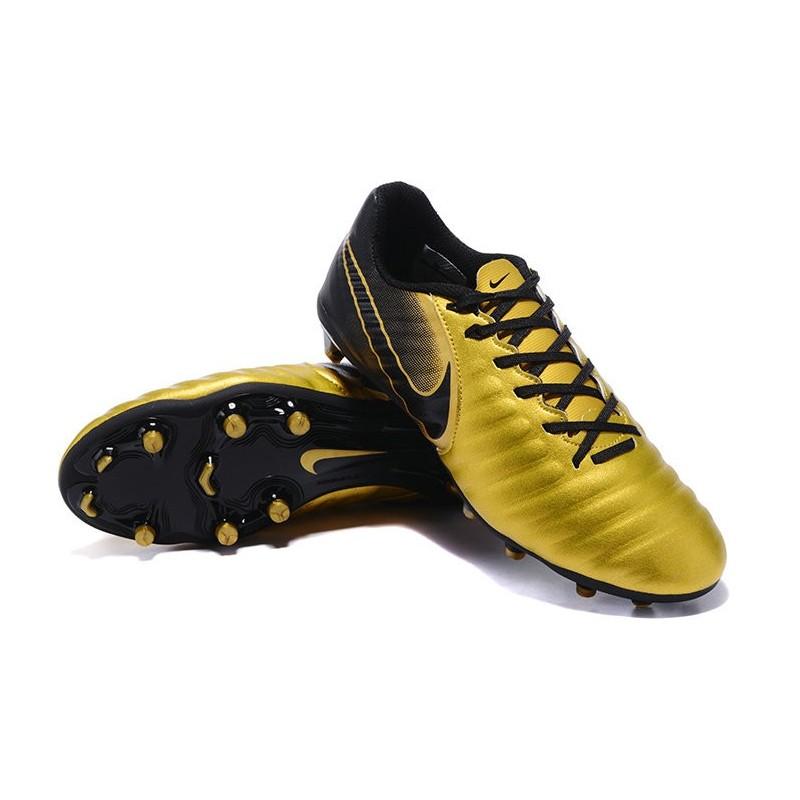 football cleats nike tiempo legend vii fg gold black