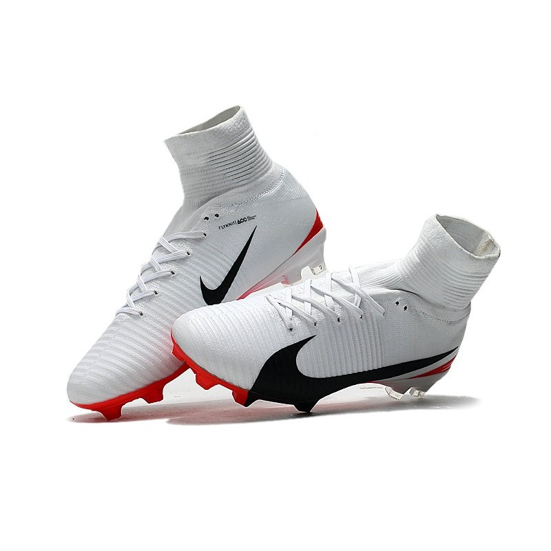 huge discount 0e6ff ebb77 Football Boots For Men Nike Mercurial Superfly 5 FG White Re