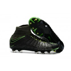 Nike Soccer Cleats 2017 New Nike Hypervenom Phantom 3 FG Black Volt