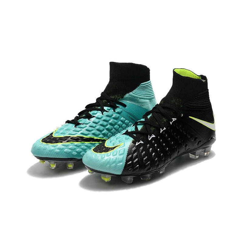 225938134192 Nike Soccer Cleats 2017 New Nike Hypervenom Phantom 3 FG Light Aqua White  Volt