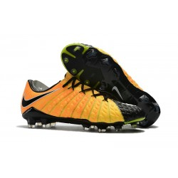 Nike Hypervenom Phantom III FG Football Cleats Yellow Black