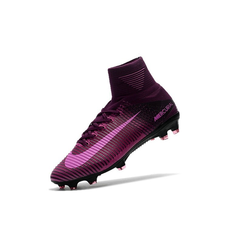 100% authentic bfa9a ef283 shopping football boots for men nike mercurial superfly 5 fg purple black  6abbe 83c1f