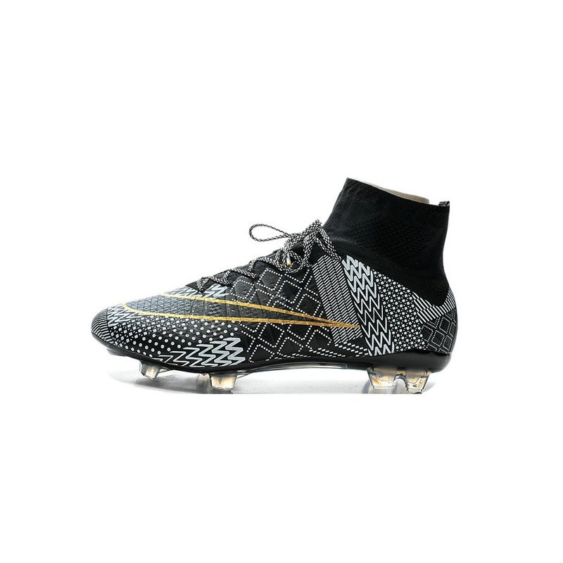 new product 6b3bd 68e50 ... New Nike Mercurial Superfly IV FG Football Shoes BHM Black History Month  Black Gold White . ...