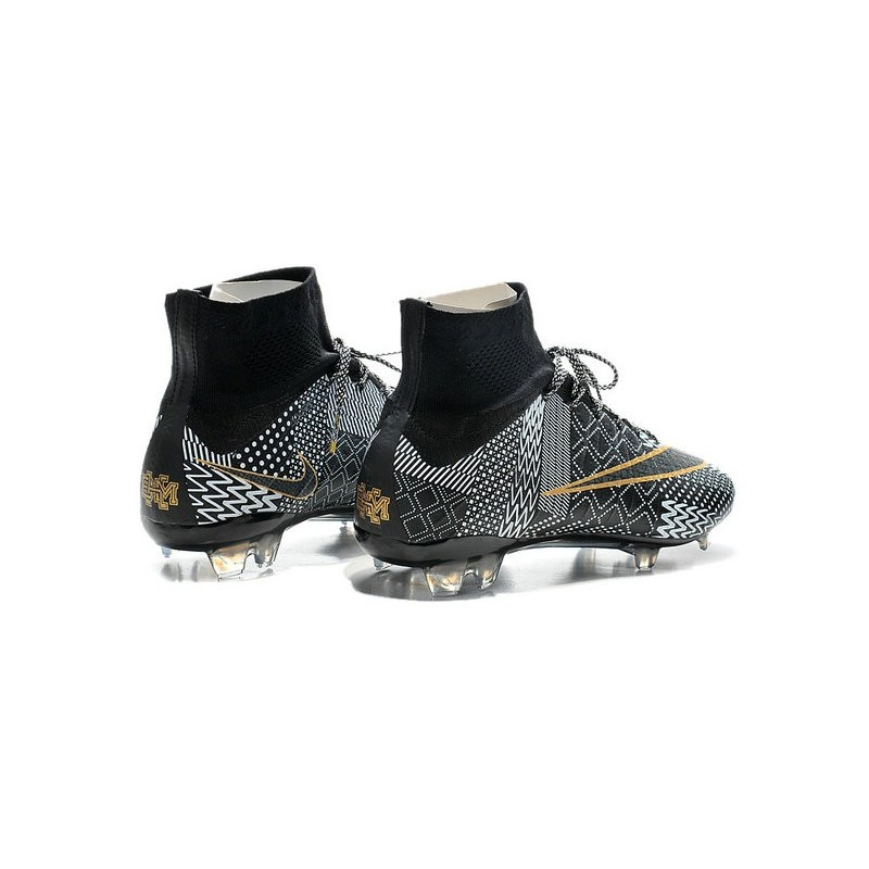 official photos 6599f c0a73 New Nike Mercurial Superfly IV FG Football Shoes BHM Black ...