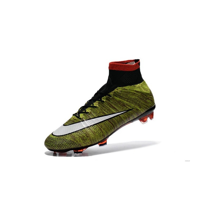 3ab2e9e5af886 reduced nike elastico superfly ic f4e65 1087a  discount code for new nike  mercurial superfly iv fg football shoes volt red black white 55115