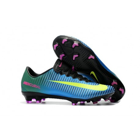 8e9853ef5 Nike Mercurial Vapor XI FG Soccer Cleats On Sale Blue Volt Pink