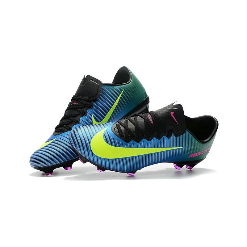 lowest price da225 9e8df Nike Mercurial Vapor XI FG Soccer Cleats On Sale Blue Volt Pink
